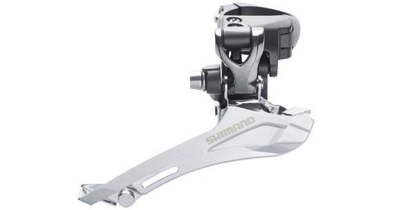 Shimano FD-CX70 Umwerfer 2x10-fach Schelle Top-Pull grau